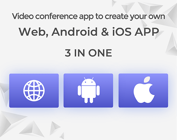 MeetAir - iOS and Android Video Conference App for Live Class, Meeting, Webinar, Online Training - 3